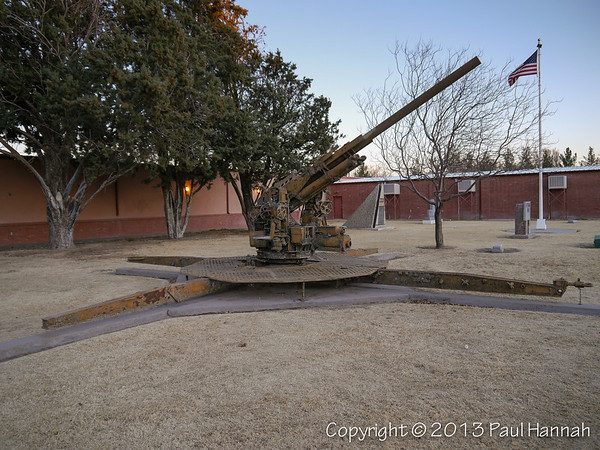 Deming Luna Mimbres Museum / Veterans Park - Deming, NM - M42A1 & 90mm AAA