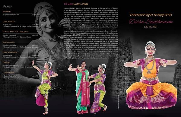 Disha's Bharatanatyam Arangetram 2021