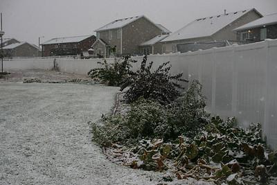 Snow Oct 3 2012