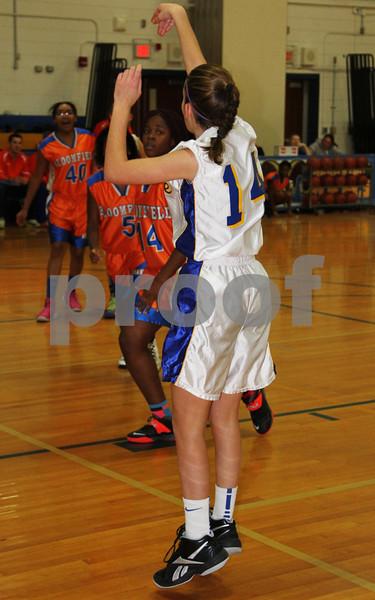 RHS Girls JV vs. Bloomfield 013014