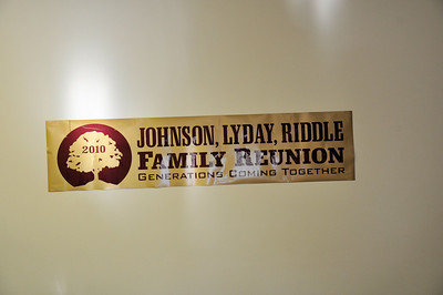 Our Love Runs Deep Johnson Lyday Riddle Reunion Sept 5, 2010