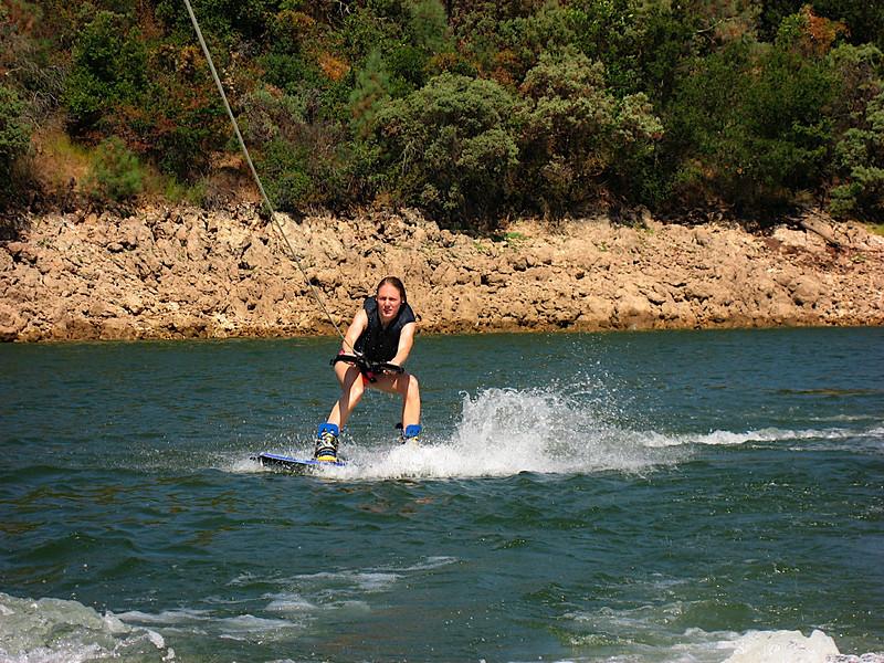 Eva wakeboarding