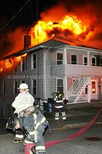 Basset St. Fire (Ansonia, CT) 11/11/09
