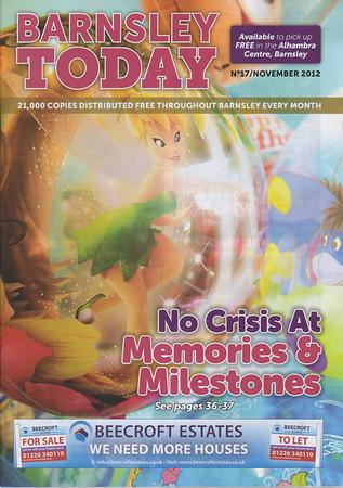2012 November - Memories and Milestones