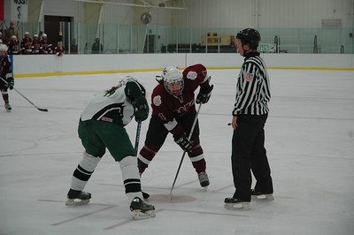 Varsity Ice Hockey vs. Deerfield - 2-28-09