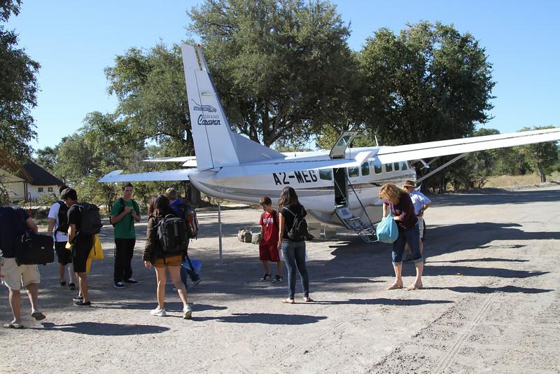 Arrival at Xakanaxa Camp