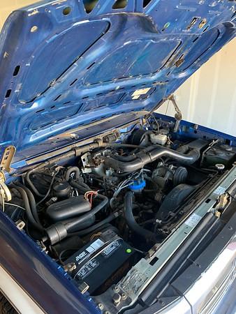1994 F250 4x4 Blue