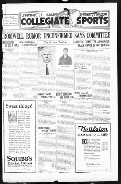 Daily Trojan, Vol. 16, No. 118, June 02, 1925