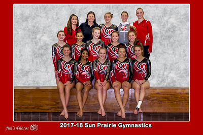 HS Sports - Sun Prairie Gymnastics Team - Feb 01, 2018