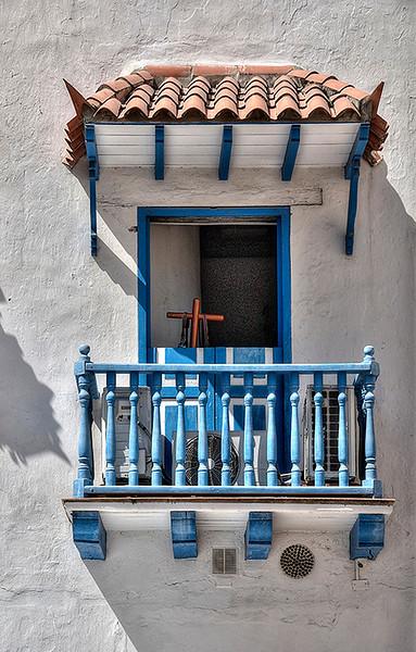 Old  Balcony  Cartgena