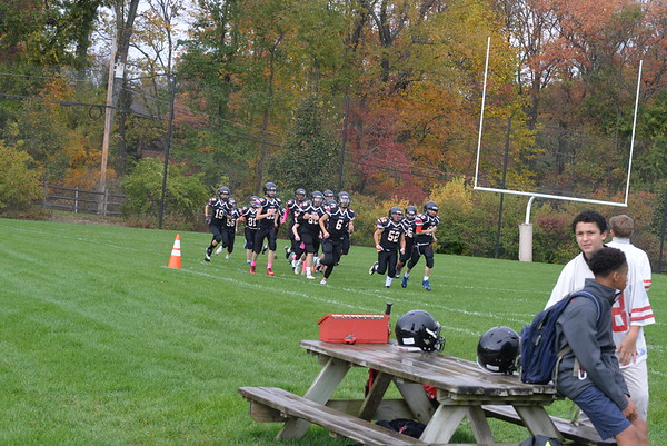 Middle School JV Football: GA vs SCHA
