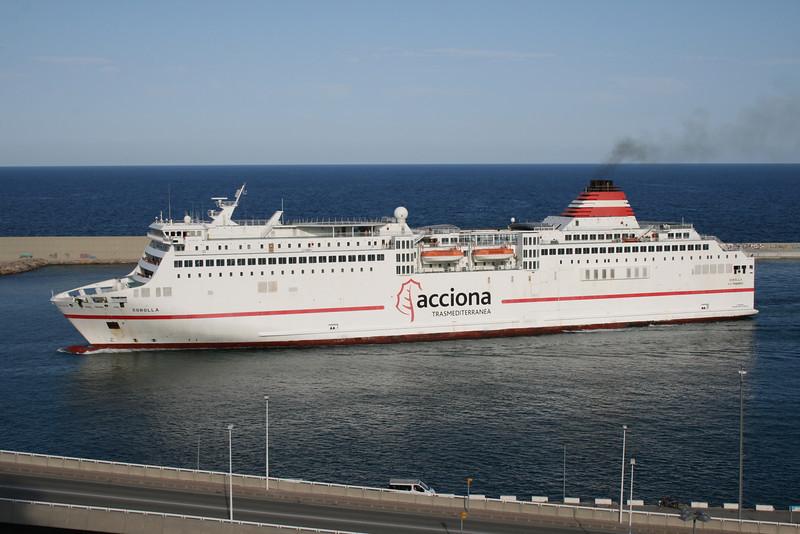 2010 - SOROLLA arriving to Barcelona.