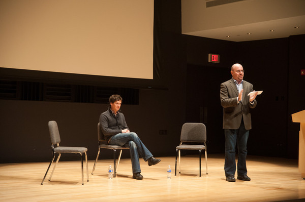 """11/13/12 """"Copper"""" Television Series Screening for Television and Film Arts Students"""