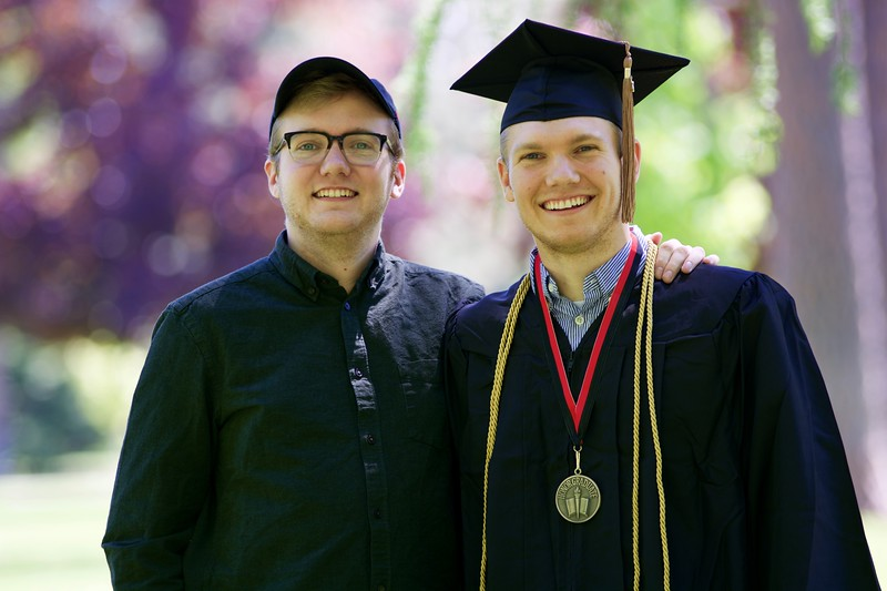 Blake F. - Whitworth Graduation 2017
