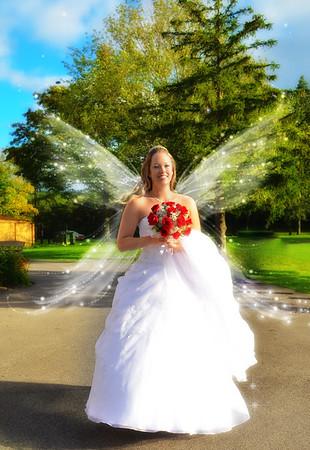 Fairy Bride and Artistis Wedding Photos