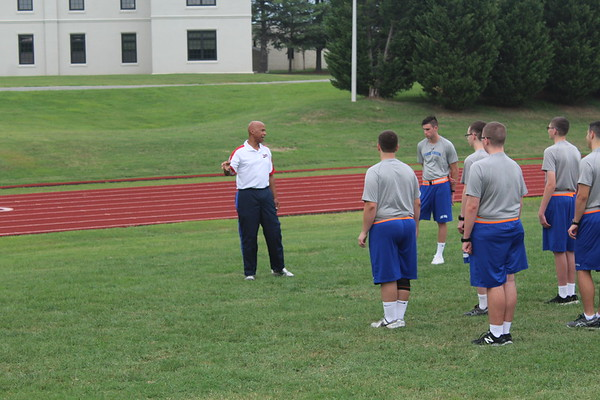 Physical Fitness Briefing and Test for Leadership Training