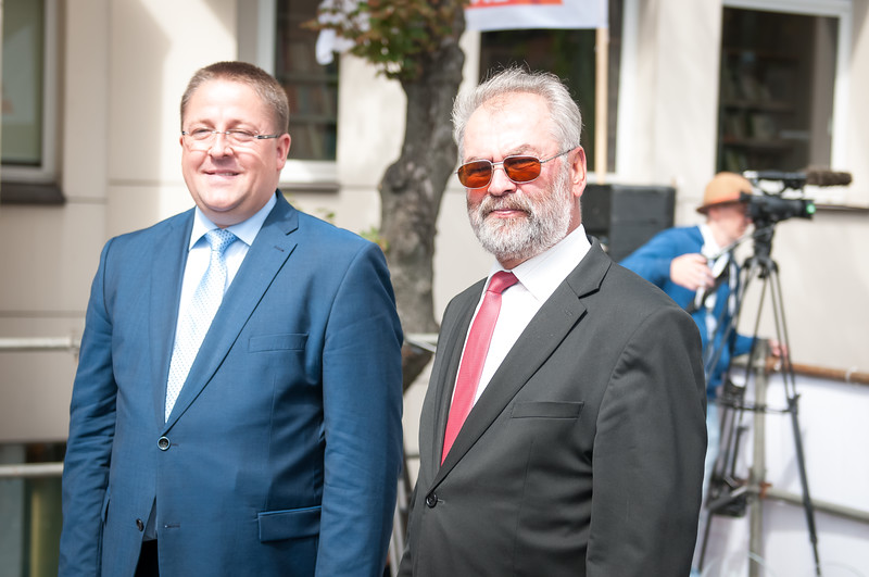 Sarunas Vaitkus ir Juozas Mazeika.JPG