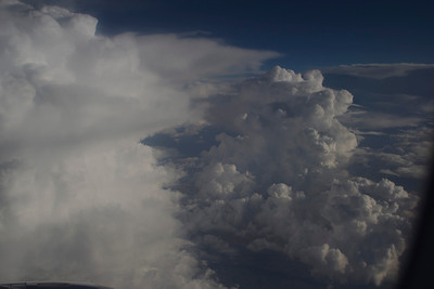 Clouds over USA