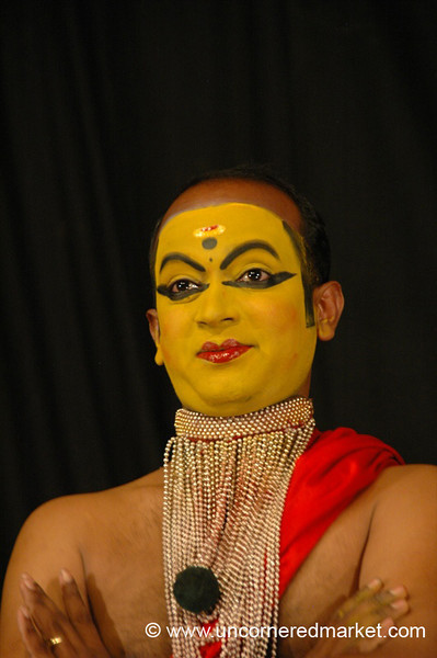 A Sampling of Kathakali Dancing - Kochi, India