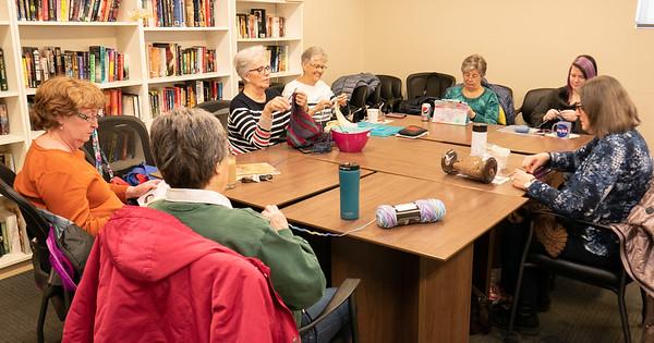 Knitting and Stitching Group 20200124