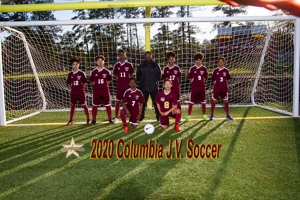 2020 Boys JV Soccer