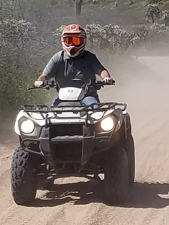 3.28.19. AM ATV Tour, John