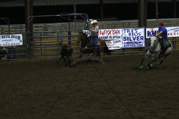Llano County Team Roping 3rd Round