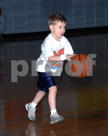 Marshall County 3 On 3 Basketball, Dunigan 4 And 5 Year Olds vs. May, January 3, 2009.