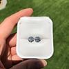 4.08ctw Old European Cut Diamond Pair, GIA I VS2, I SI1 49