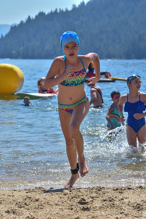 Donner Lake Tri Kids Swim