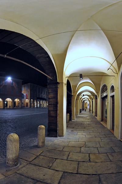 Porticos - Piazza San Prospero, Reggio Emilia, Italy - February 21, 2011