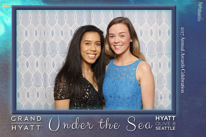 Seattle Photo Booth: Hyatt Seattle Annual Awards Banquet 2017. Tonight We PartyBooth!