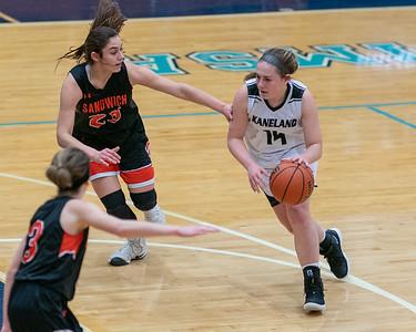 021920 Sandwich vs Kaneland girlks basketball