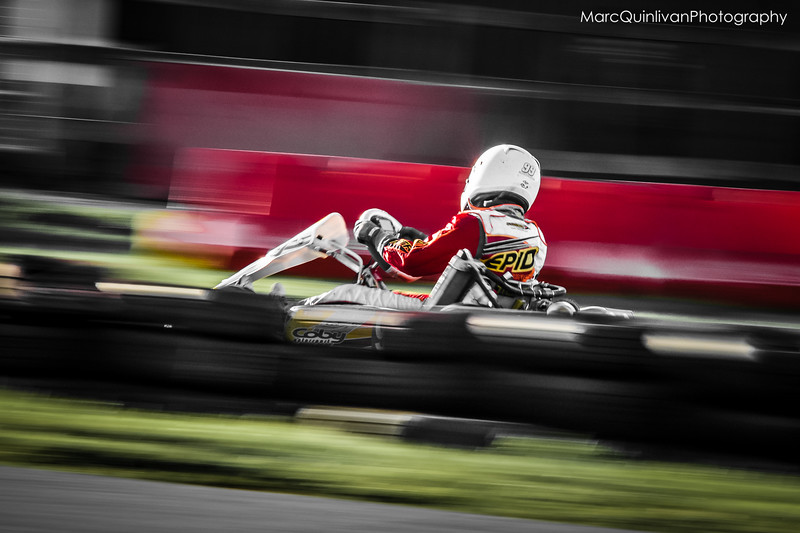 Leinster Karting Club - 2015 Winter Championship - Round 2 - Alyx Coby