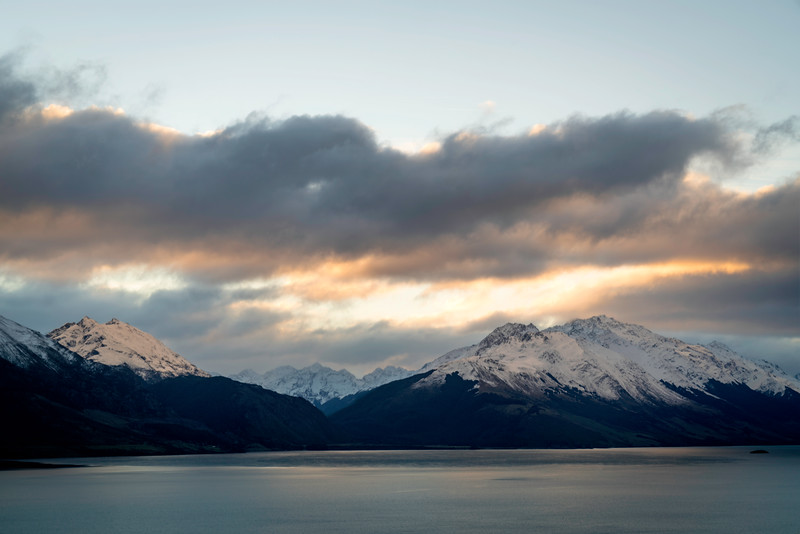 Sunset Over Lake Wakatipu