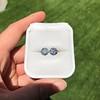 4.08ctw Old European Cut Diamond Pair, GIA I VS2, I SI1 41