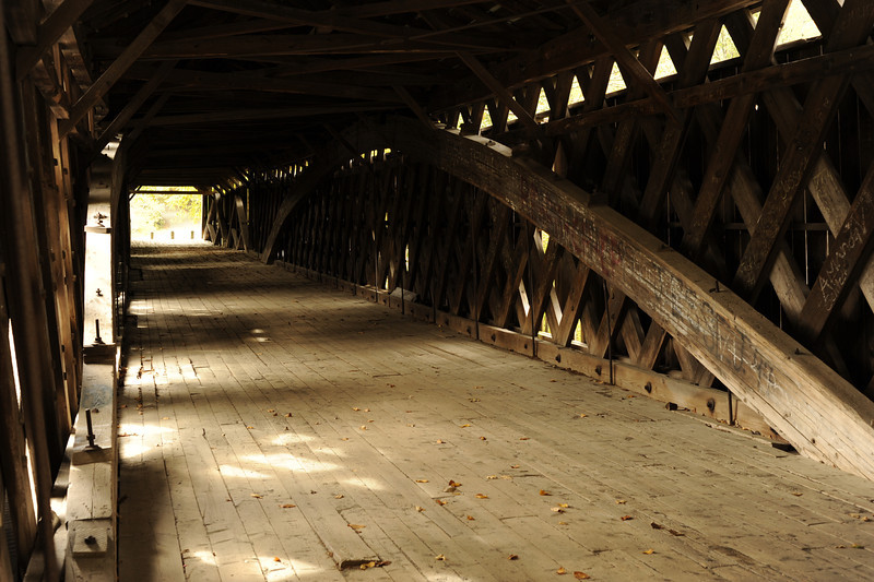 Scott Bridge from the inside