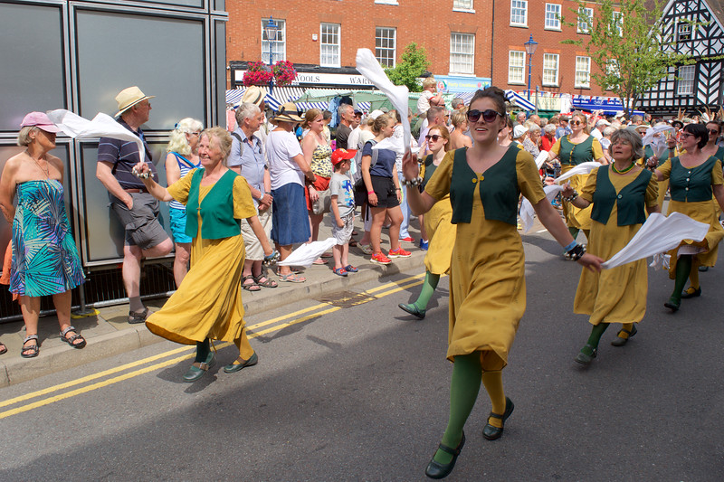 The Warwick Procession