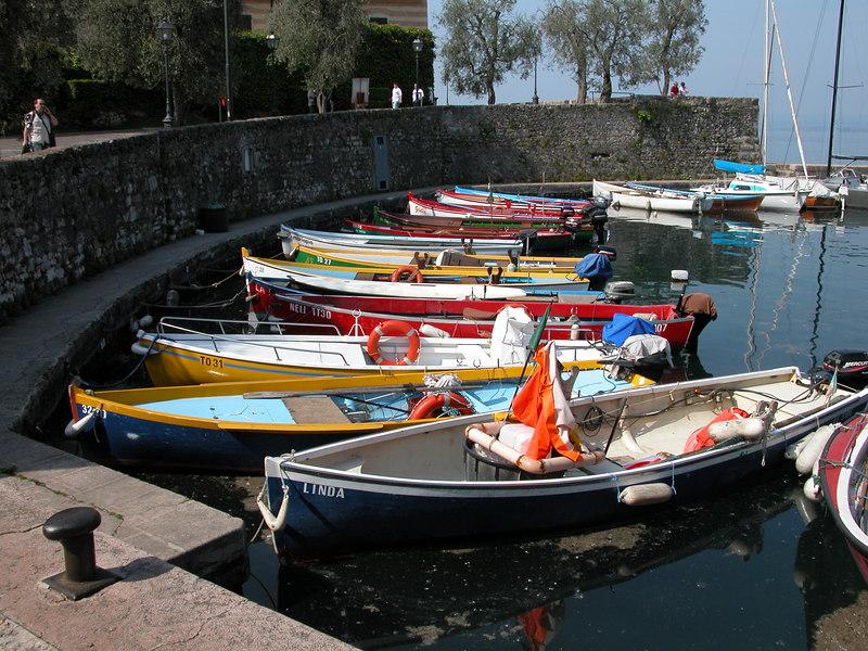 Torri del Benaco Harbor, Lake Garda / Ted Wenz Photo