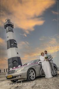 Huwelijk Jeffrey & Melanie