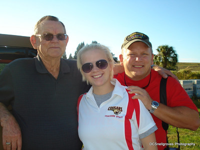Dad and Debs visits Florida 2011
