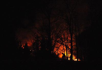 Fire guts Brighton Township home