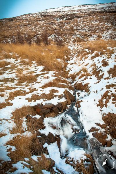 Babbling Brook at Eiríksstaðir