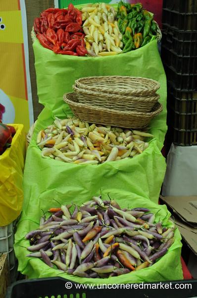 Every Color of Chili Pepper - Mistura Gastronomy Festival in Lima, Peru