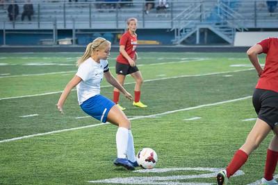DHS Girls Soccer 09-27-2016