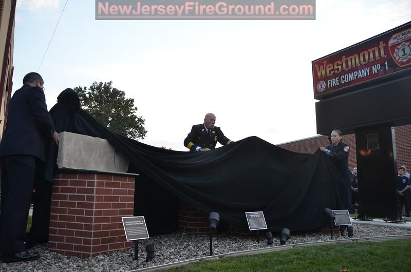 10-3-2014(Camden County)WESTMONT 911 Memorial Ceremony