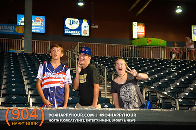 Jumbo Shrimp Kids Run The Bases - 7.23.17