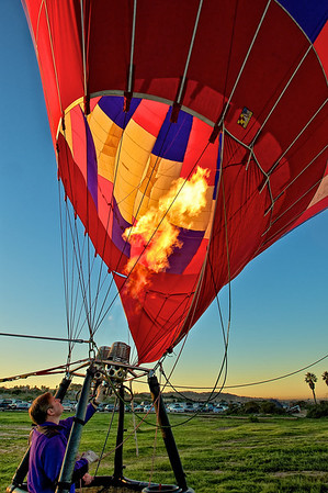 FARMERS - Hot Air Balloon at Torrey Pines
