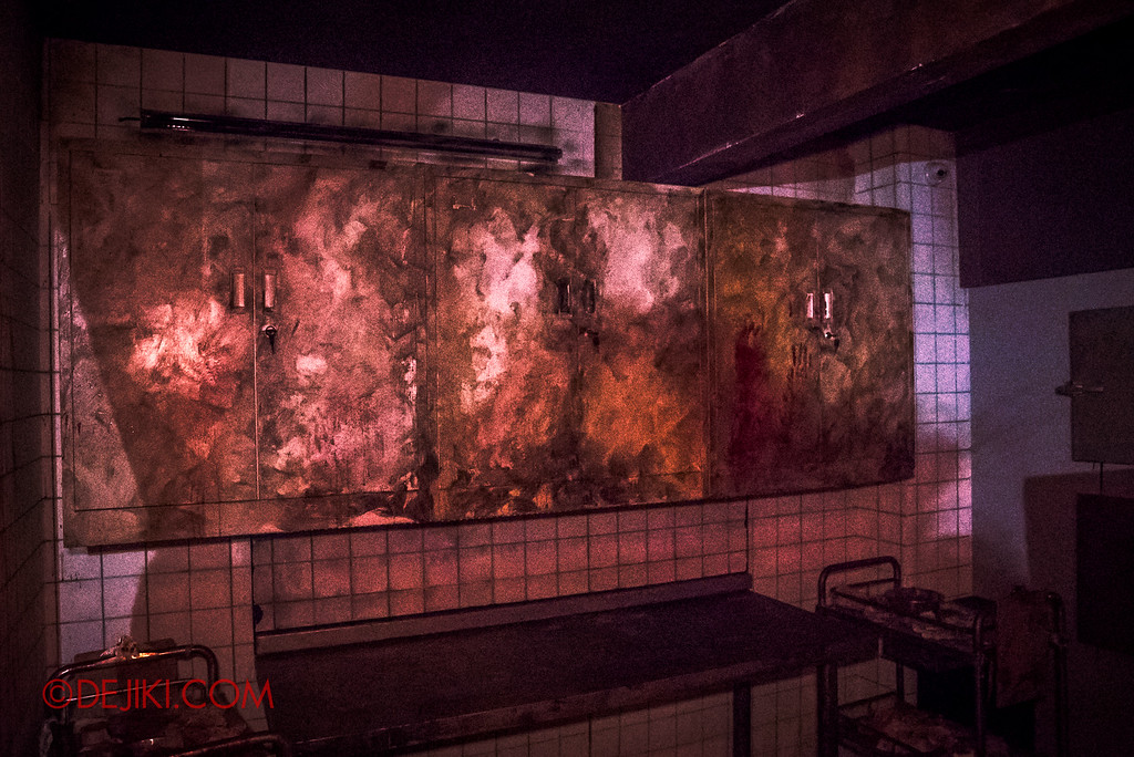 Halloween Horror Nights 6 - Old Changi Hospital / morgue