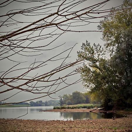 Loire en matin gris